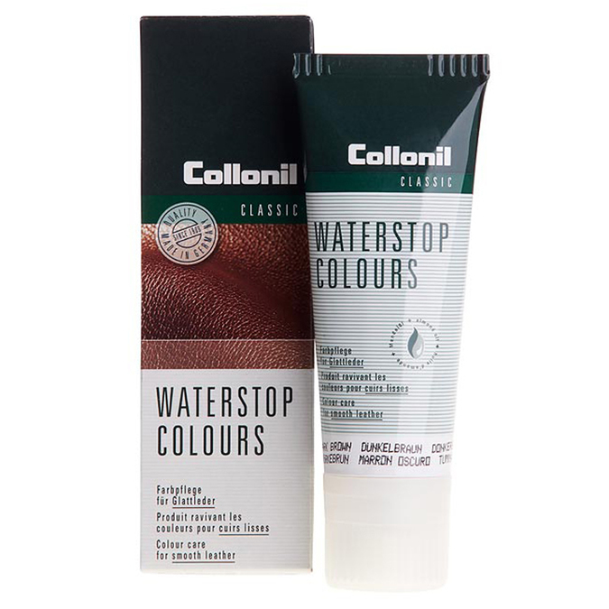 Water-stop cream in tube with application sponge collonil, brown , 902-6074 - 13