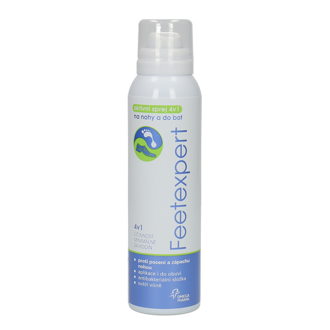 Feetexpert 4-in-1 active spray for feet and shoes, multicolor, 998-0007 - 13