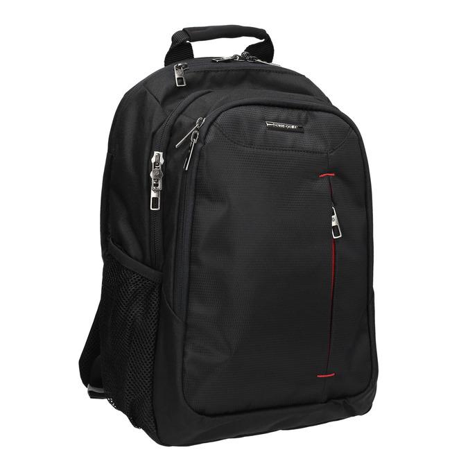 Quality laptop backpack, black , 969-2395 - 13