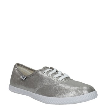 Ladies' silver sneakers tomy-takkies, silver , 519-1690 - 13