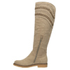 High boots above the knee bata, beige , 599-2602 - 19