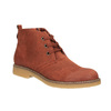Ladies' ankle boots with colourful lining bata, orange, 599-5605 - 13