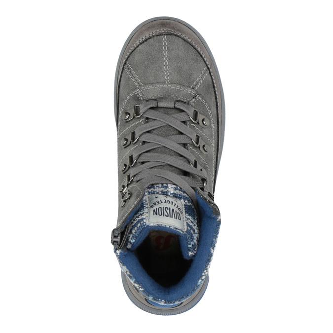 Children's ankle boots mini-b, gray , 491-2651 - 19