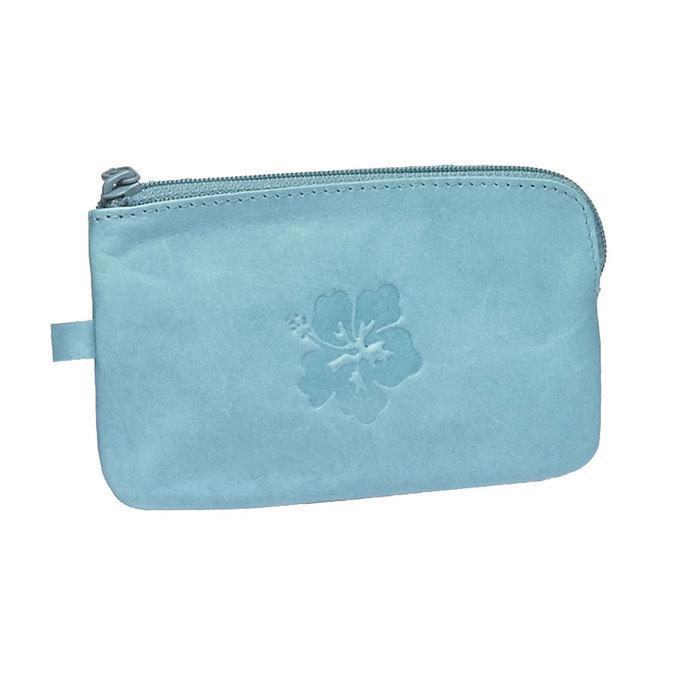 Leather purse bata, blue , 944-9161 - 13