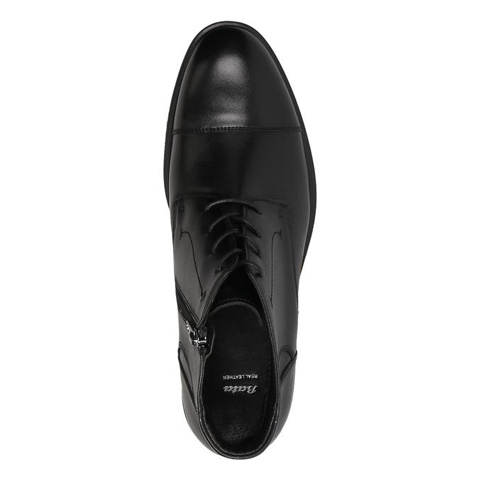 Men´s ankle-cut shoes bata, black , 894-6671 - 19