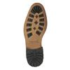 Men's leather ankle boots bata, black , 894-6660 - 26
