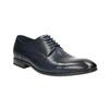 Blue leather shoes bata, blue , 826-9769 - 13