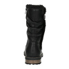 Girls' insulated high boots mini-b, black , 391-6653 - 17