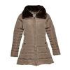 Longer winter jacket bata, brown , 979-8649 - 13