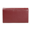 Ladies' leather purse, red , 944-5357 - 19