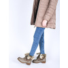 Ladies' winter boots with fur bata, brown , 591-3605 - 18