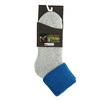 Ladies' thermal socks, blue , gray , 919-9381 - 13