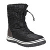 Ladies´ snow boots with warm padding bata, black , 599-6611 - 13