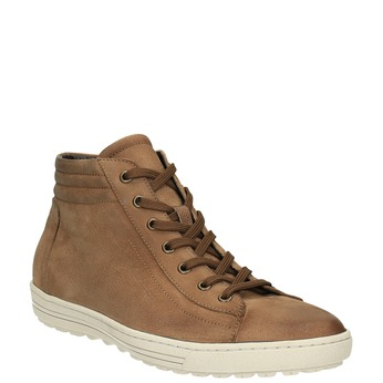 Ladies' ankle sneakers bata, brown , 594-8659 - 13