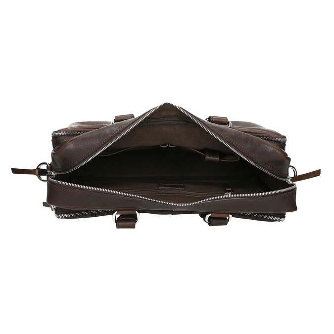The Seymur Briefcase Bag, brown , 964-4106 - 15