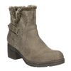 Ladies´ ankle-cut Cossacks bata, gray , 699-2632 - 13