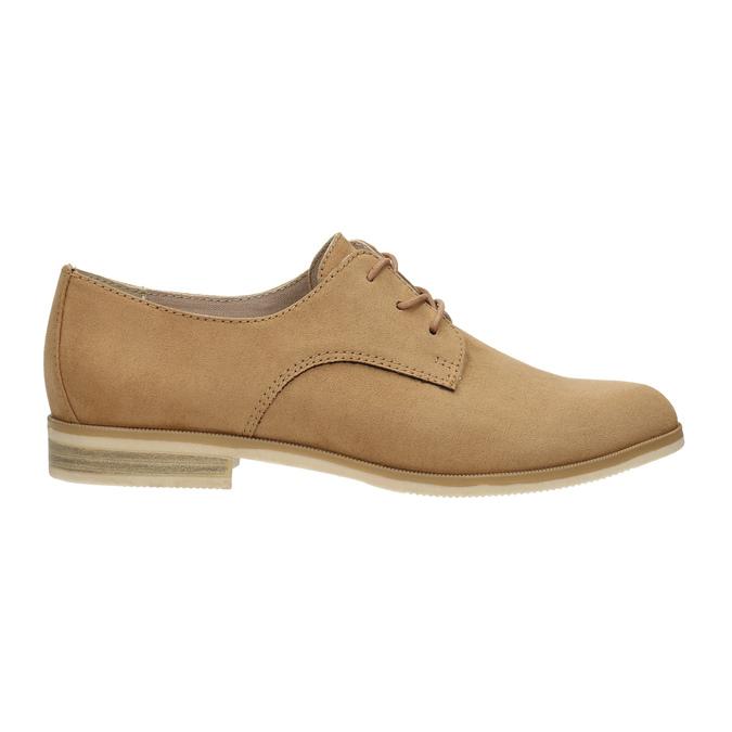 Ladies' Derby shoes bata, brown , 529-3632 - 15
