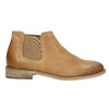 Leather Chelsea Boots bata, brown , 594-3432 - 15