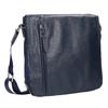 Men's crossbody-style bag bata, blue , 961-9508 - 13