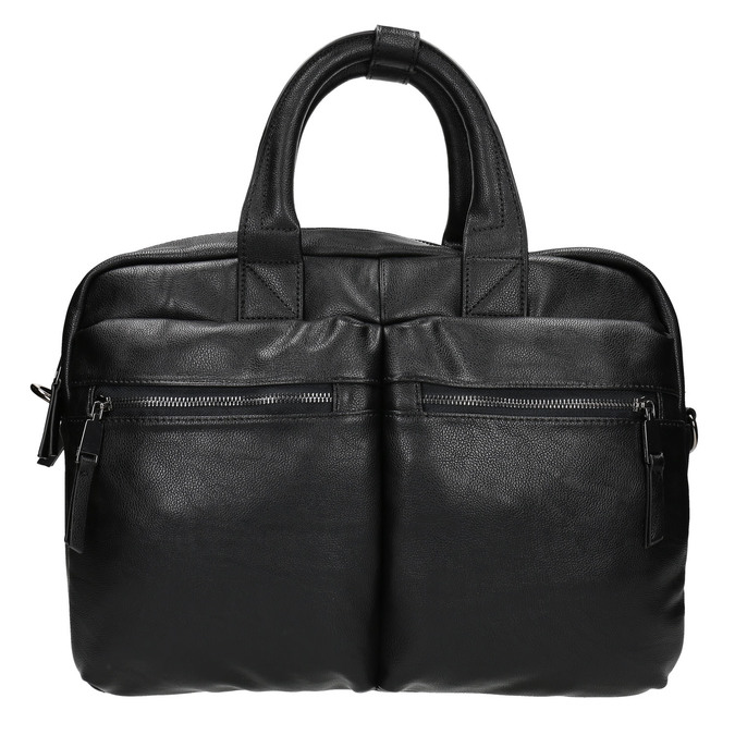 Black bag bata, black , 961-6521 - 26