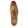 Men's Brogue leather shoes bata, brown , 826-3821 - 19