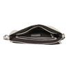 Crossbody handbag with perforated flap bata, gray , 961-2709 - 15