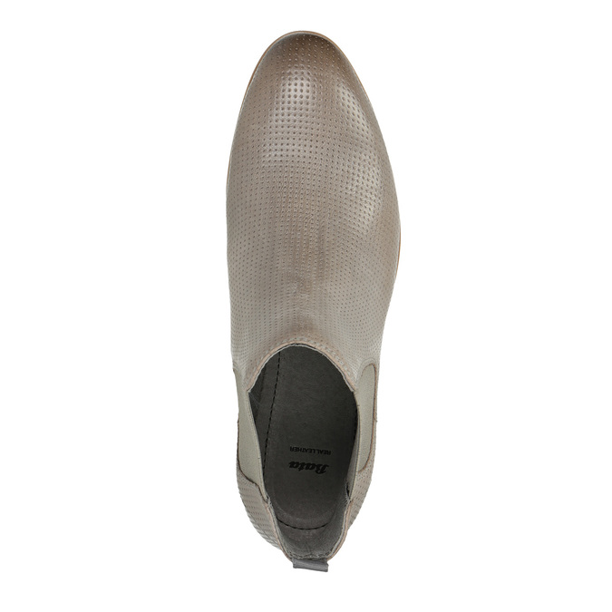 Ladies´ footwear in the Chelsea style bata, brown , 596-2644 - 19