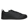 Men's black sneakers adidas, black , 801-6144 - 15