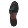 Leather shoes with contrasting quilting for gentlemen bata, brown , 824-4838 - 26