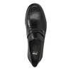Men´s leather Loafers bata, black , 814-6621 - 19
