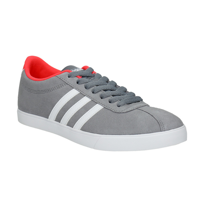 Ladies' grey sneakers adidas, gray , 503-2976 - 13