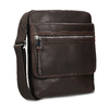 Leather crossbody bag, brown , 964-4237 - 13