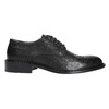 Men's leather shoes, black , 824-6292 - 15