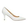 Ladies´ leather pumps bata, white , 624-1632 - 15