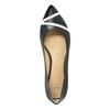 Ladies´ pointed ballerinas bata, black , 524-6602 - 19