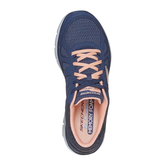 Ladies' sporty sneakers skechers, blue , 509-9963 - 19