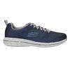Men's sneakers with memory foam skechers, blue , 809-9141 - 15