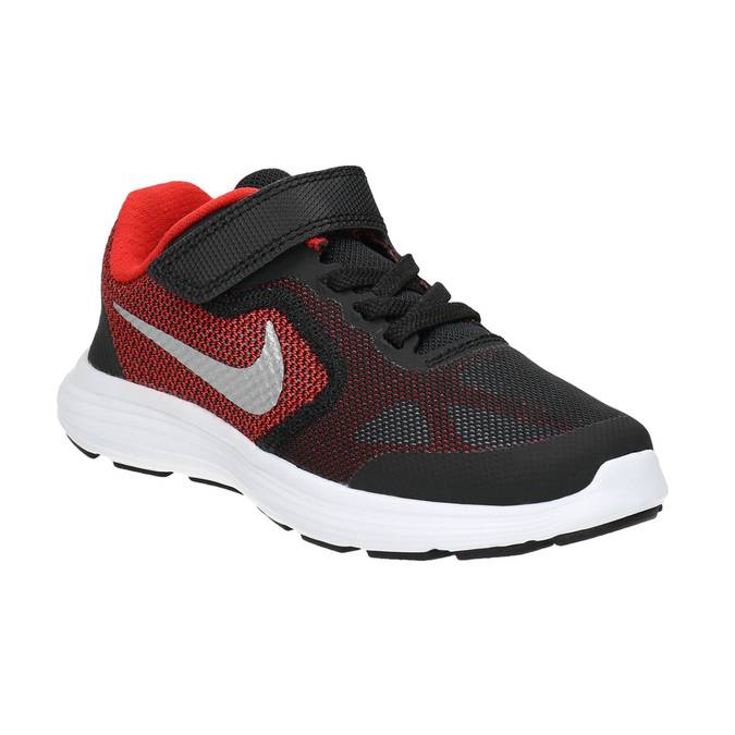 Children's sporty sneakers nike, black , 309-5149 - 13