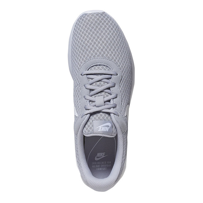 Grey sporty sneakers nike, gray , 809-2557 - 19