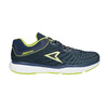 Sport sneakers with a pattern power, blue , 809-9155 - 15