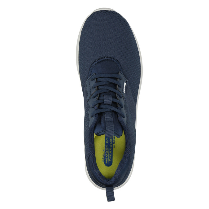 Men's blue sneakers power, blue , 809-9175 - 19