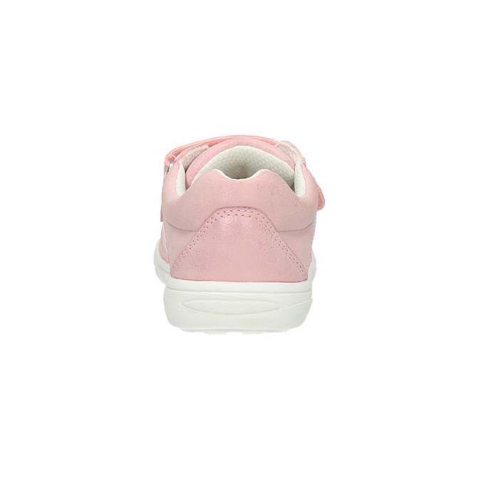 Children's sneakers with floral pattern mini-b, pink , 221-5605 - 17
