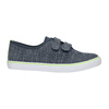 Children's sneakers with Velcro north-star-junior, blue , 419-9611 - 15