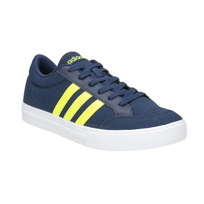 Boys' blue sneakers adidas, blue , 489-8119 - 13