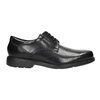 Black leather shoes rockport, black , 824-6127 - 15