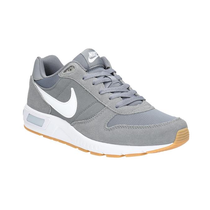 Men's grey sneakers nike, gray , 803-6152 - 13