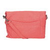 Ladies' leather crossbody handbag fredsbruder, red , 964-5037 - 26
