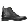 Leather ankle-cut shoes vagabond, black , 894-6001 - 15