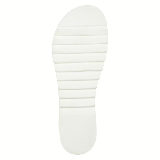 Ladies' leather sandals weinbrenner, brown , 566-4630 - 26