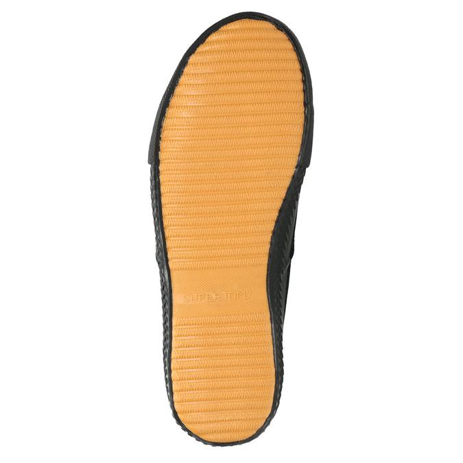 Men's black sneakers tomy-takkies, black , 889-6227 - 26